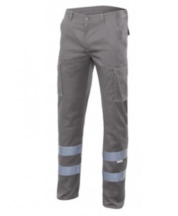 Pantalón con cintas stretch...