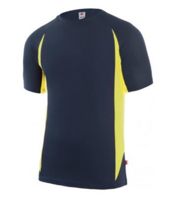 Camiseta tecnica bicolor