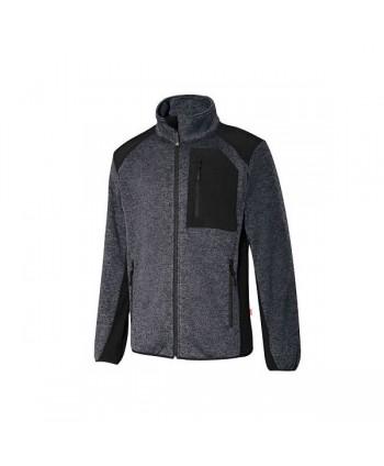 chaqueta de punto afelpado